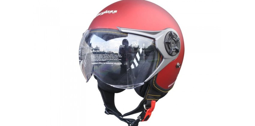 Cargloss YRM Micrometric Buckle Majestic Red  Helm Retro 0