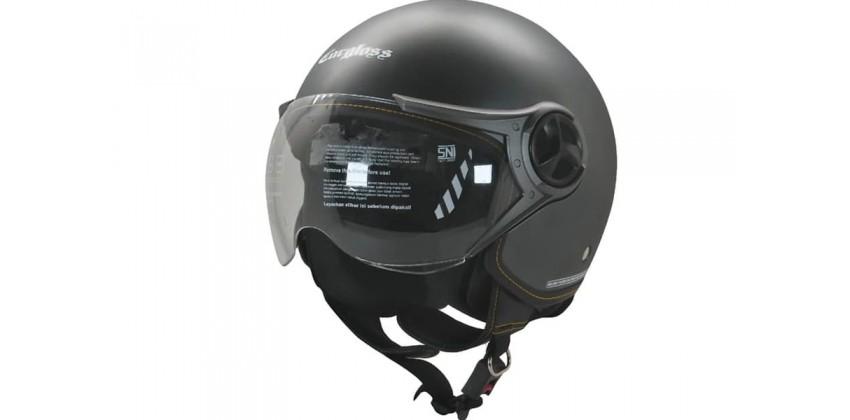 Cargloss YR Ghotic Anchor Grey Doff  Helm Retro 0