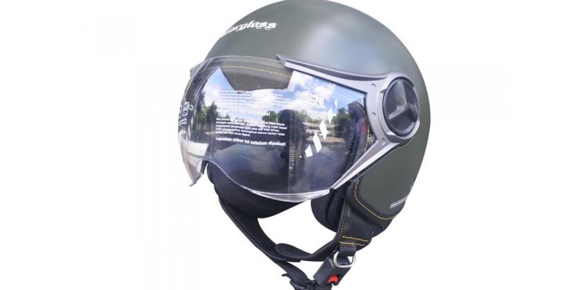 Cargloss YR Ghotic Army Green Doff  Helm Retro 0
