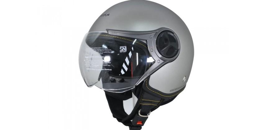Cargloss YR Ghotic Silver Mett Doff  Helm Retro 0