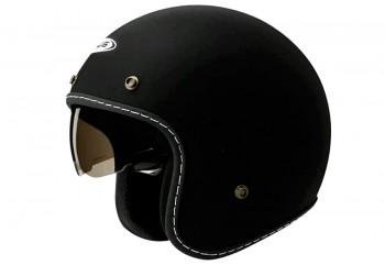 Zeus ZS-380FA Helm Retro Hitam