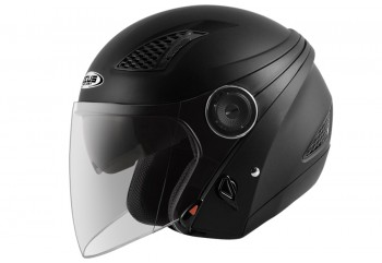 Zeus ZS-610 Helm Half Face Hitam