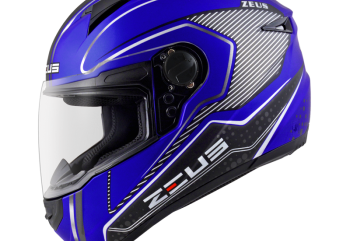 Zeus ZS-811 AL17 BK Helm Full Face Merah