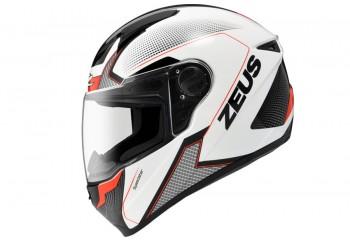Zeus ZS-811 AL6 WH Helm Full Face Biru