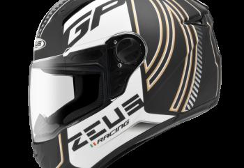 Zeus ZS-811 AL2 Matte BK Helm Full Face Hitam