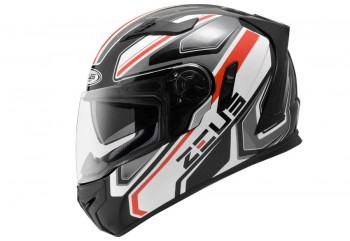 Zeus ZS-813 AN5 BK Helm Full Face Merah
