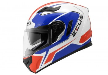 Zeus ZS-813 AN6 WH Helm Full Face Hitam