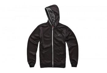 Alpinestars Freemont Zip Fleece Sweatshirt Jaket Harian Hitam
