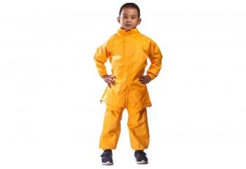 Inventzo Aquakids 2 Jas Hujan Anak Kuning