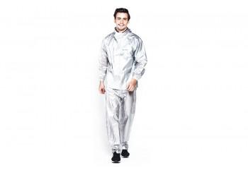 Zoleka Aquatrans Jas Hujan Rain Coat Silver