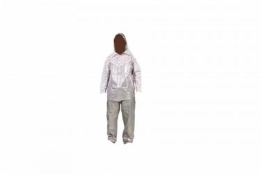 Indoplast Batik Jas Hujan Setelan Silver