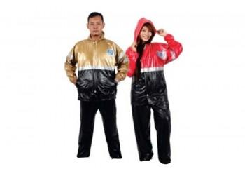 Plevia Captiva 728 Jas Hujan Rain Coat Multicolor