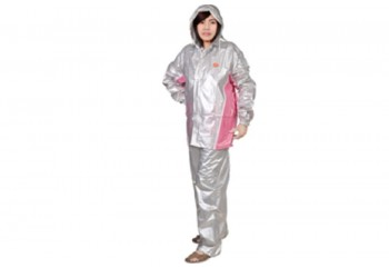 Indoplast Fixie Jas Hujan Setelan Silver