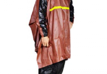 Indoplast Getz Jas Hujan Rain Coat Coklat
