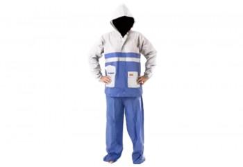 Elmondo Kombinasi 2 Jas Hujan Rain Coat Biru
