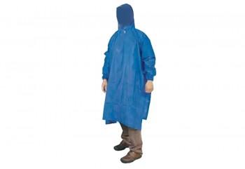 Indoplast Lengan Satria Jas Hujan Ponco Biru