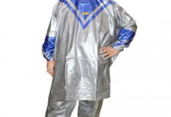 Indoplast Platinum Jas Hujan Rain Coat Biru