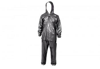 Plevia Pop 810 Jas Hujan Rain Coat Ungu Corak Polkadot
