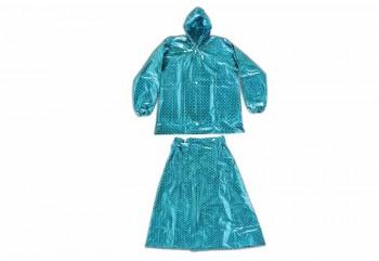 Plevia Rok Pop Jas Hujan Rain Coat Biru Banyak Berbagai Warna