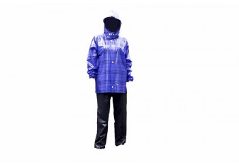 Plevia Rush 811 Jas Hujan Rain Coat Abu-abu