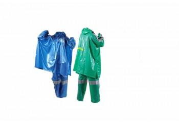 Plevia Splas 114 Jas Hujan Setelan Hijau