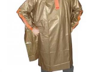 Indoplast Taruna Jas Hujan Ponco Oranye