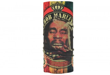 CK Bandana 1405024 Motif Bob Marley Masker Motor Buff Hijau