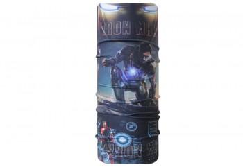 CK Bandana 1407021 Masker Motor Multifungsi Motif Iron Man