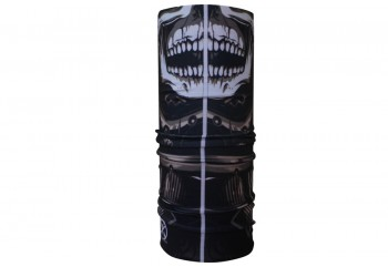 CK Bandana 1407040 Masker Motor Multifungsi Motif Samurai Skull