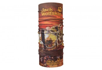 CK Bandana 1409014 Motif Jack Wolfskin Masker Motor Buff