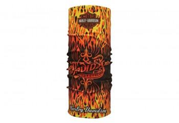 CK Bandana 1412006 Masker Motor Multifungsi Motif Harley Davidson Fire Tribal