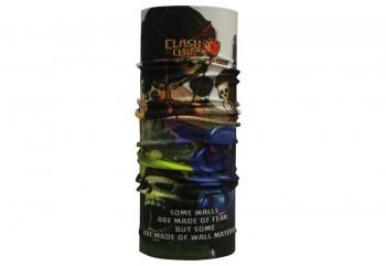 CK Bandana 1605013 Masker Motor Multifungsi Motif Wall Breaker Clash Of Clans