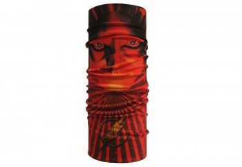 CK Bandana 1606010 Motif The Flash Masker Motor Oranye