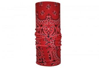 CK Bandana 1802013 Masker Motor Multifungsi Motif Manai Red