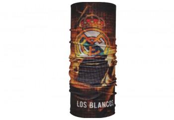CK Bandana 1802022 Masker Motor Multifungsi Motif Real Madrid Fire