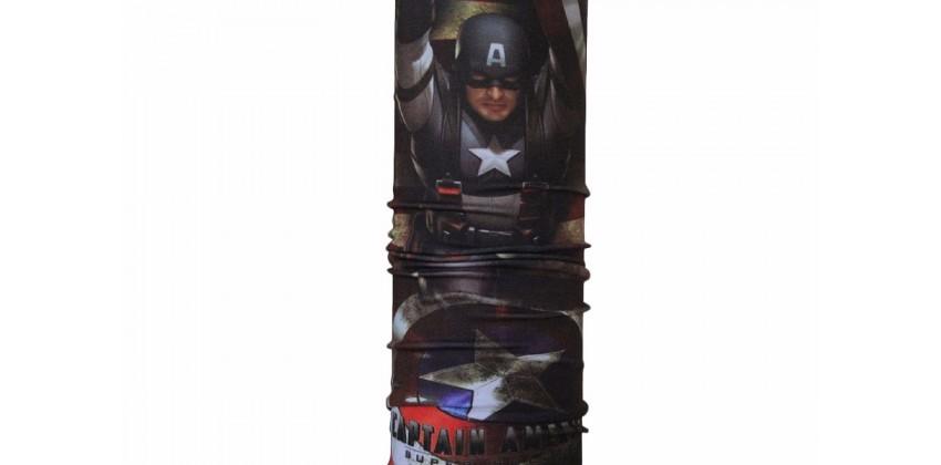 CK 1407008  Masker Motor Buff Motif Captain America 0