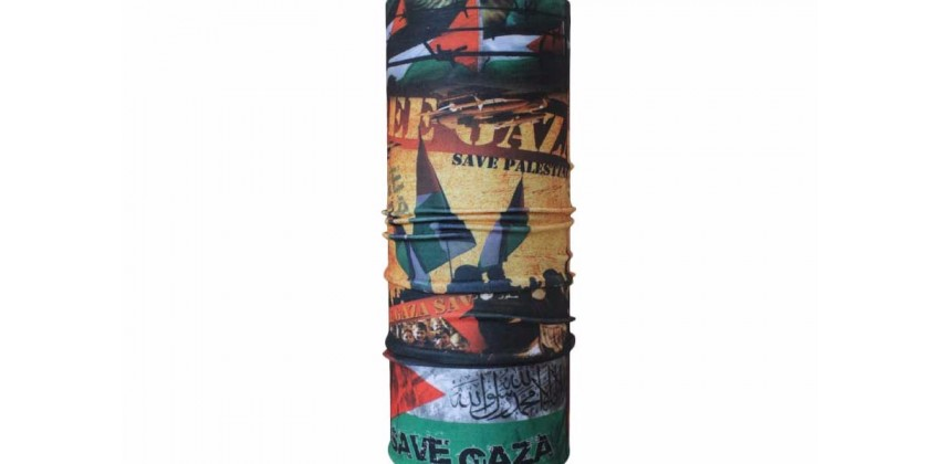 CK 1407023  Masker Motor Buff Motif Save Gaza 0