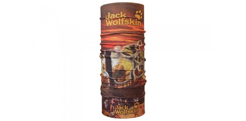 CK Bandana 1409014 Masker Motor Multifungsi Motif Jack Wolfskin 0