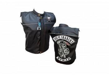 Emblem Sons Of Anarchy Rompi Kulit