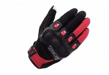 Taichi 412 Surge Mesh Sarung Tangan Full-Finger Merah