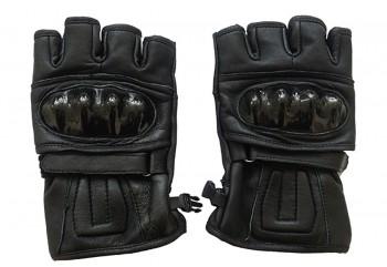 Virgo Racing Batok Protektor Sarung Tangan Half-Finger Hitam