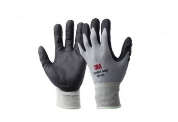 3M Comfort Grip Sarung Tangan Full-Finger Abu-abu