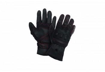 Premium Leather Full-Finger Kulit Hitam
