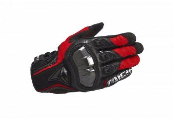 RS Taichi RST391 Sarung Tangan Full-Finger Merah