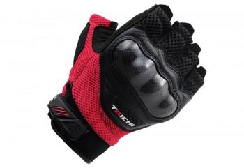 RS Taichi RST-405 Sarung Tangan Half-Finger Merah