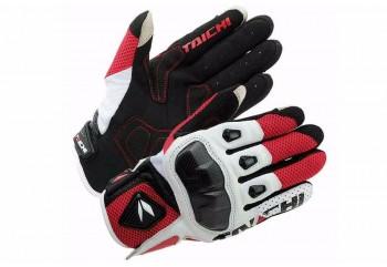 RS Taichi RST-411 Sarung Tangan Full-Finger Merah