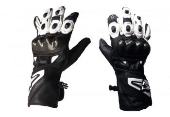Virgo Racing VRG Alpha Sarung Tangan Full-Finger Putih