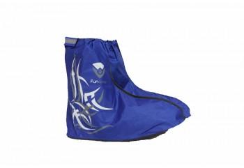 Fun Cover 4610 Sepatu Shoes Rain Biru