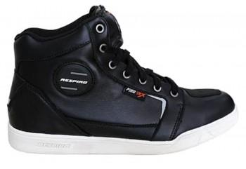 D-Trenz Ultra Leather Riding Shoe Black White