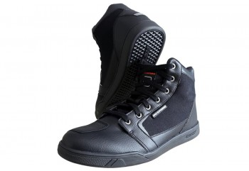 Dtrenz Alpha Canvas Riding Shoe Black Black